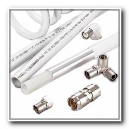 Металлополимерная композитная и PERT-труба и фитинги