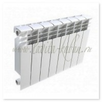 DWS-350 Радиатор алюминиевый (4 секции)