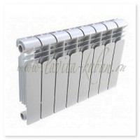 DWS-350 BIMETAL Радиатор биметаллический (8 секций)
