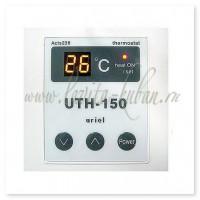 UTH-150 Терморегулятор встраиваемый электронный 2 кВт Белый