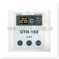 UTH-150 LANDFILLS Терморегулятор накладной электронный 2 кВт Белый