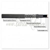 GWS 24-2 CR Саморегулирующийся греющий кабель для обогрева трубопроводов, 24W