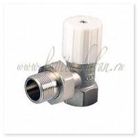 """ACP 1/2(N) Клапан угловой """"ВР-НР"""" для радиаторов облегченный, Ручка-бобышка"""