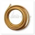 HFPY 15A (Heat treatment covering) Труба гофрированная отожженная (термообработанная) в п/э оплетке для газа, 50 м/рул Желтый